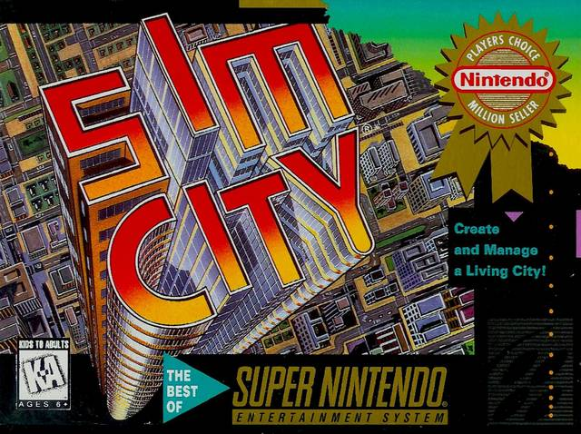 Image result for simcity snes