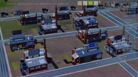 SimCity GlassBox Game Engine Part 2 - Scenario 1 The Economic Engine