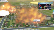Meteor strike Simcity