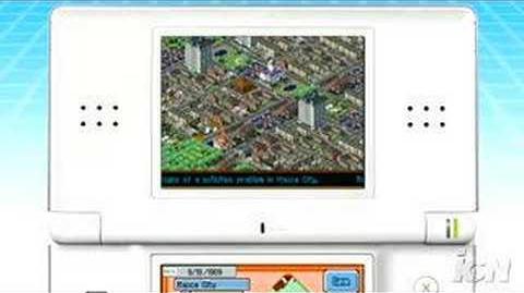 Trailer SimCity DS