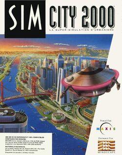Jaquette SimCity 2000