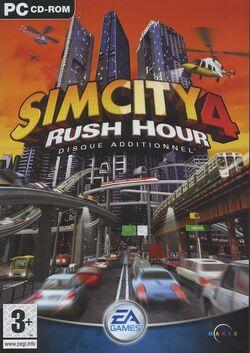 Jaquette SimCity 4 Rush Hour