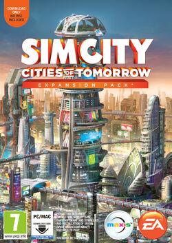 SimCity Cities of Tomorrow box art