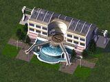噴泉單軌站