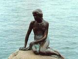 美人魚雕像