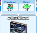 A-Class Billboard