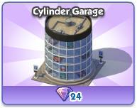 Cylinder Garage