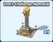 Don's Challenge Monument