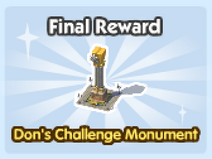 Dons Challenge Monument