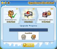 Fire station upgrade 2 process