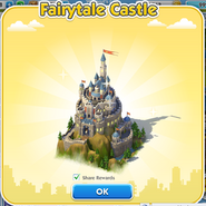 Fairytale Castle Finish