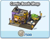 Comic Book Shop