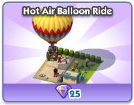 Hot Air Ballon Ride