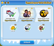 Train station upgrade 2 unlock