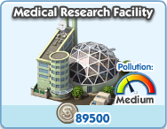 Medical research facility