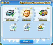 Business convenience store upgrade 2 unlock