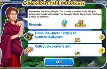 A predict-a-bill outcome