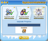 Factory sushi factory upgrade 3 process