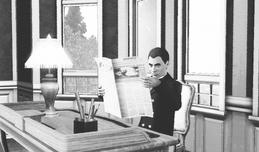 Rojasio Alzaro in his office