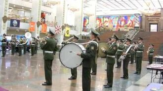 PAG Orchestra, Granda's National Anthem inside the halls of the Victory museum.-0