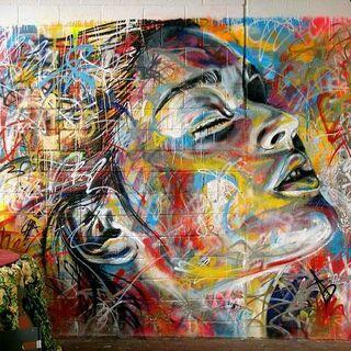 Street art in Revolution Center