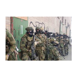 36th Squad in a terrorist raid.