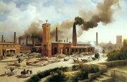 Aquitanian 19th Century Savoy Factory
