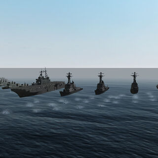 New navy ships of PAGN.
