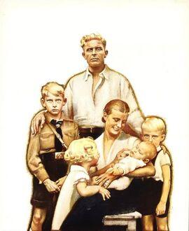 Typical Aquitanian Commoner Family