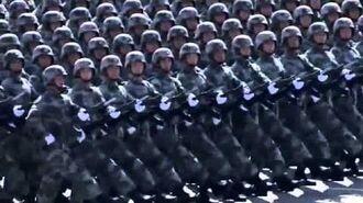 Mandarran Military Parade