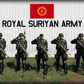 Infantry of RSA.