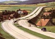 Aquitanische Neue Reichsautobahn, um 1939, Herzogtum Sawoie