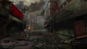 City of Arcadia in ruins