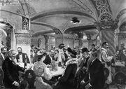 Cellar Tavern & Prussian Junkers, Hailenberg, 1927