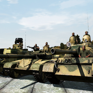 Tanks of PAGGF.