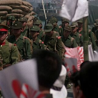 Aragonian Military parade in the Tatenokai Military Attire