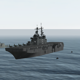 Navy ships of PAGN.