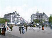 Wölfestein Platz, Königsberg, ca 1900