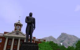 Statue of Rojasio Alzaro