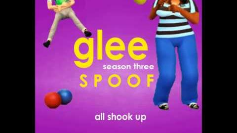 Glee Spoof Song All Shook Up