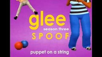 Puppet On a String Glee Spoof Song