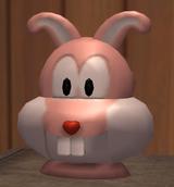 A Robot Bunny Head