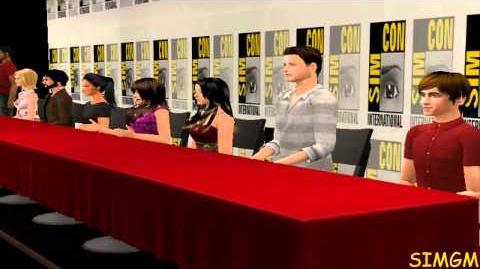 Glee Spoof - Sim-Con 2012 Panel