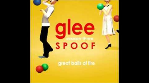 Glee Spoof Song Great Balls of Fire