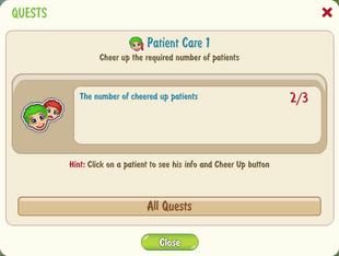 Patient care 1
