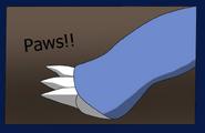 The paws of Aurorus