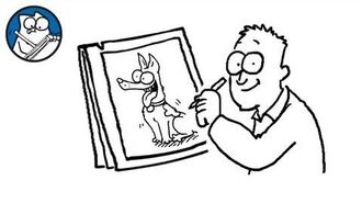Simon Draws- The Dog - Simon's Cat - CREATIVE