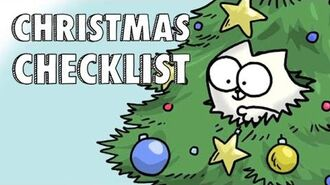 Simon's Cat- Christmas Checklist