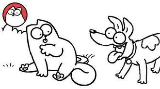 Fetch - Simon's Cat - SHORTS -25