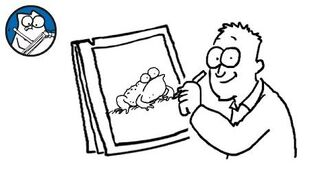 Simon Draws- Toads and Frogs - Simon's Cat - CREATIVE